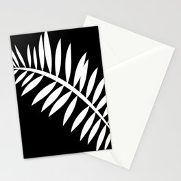 PALM LEAF WHITE LEAF Stationery Cards