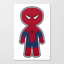 Chibi Spider-man Canvas Print