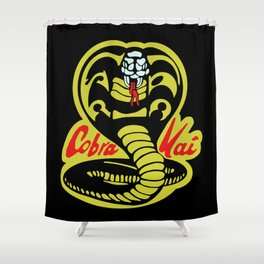 Cobra Kai Shower Curtain