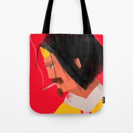 Smokin' Macho Tote Bag