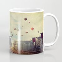 portlandia Mugs featuring Portland Oregon Whimsy by Danielle Denham
