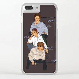 SKAM the Isak(s) Clear iPhone Case