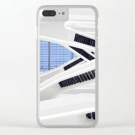 Zaha H A D I D | architect | Dominion Office Building Clear iPhone Case