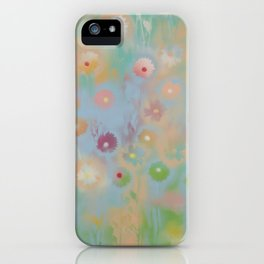 Pastel Daisies iPhone Case