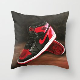 Air Jordans Throw Pillow