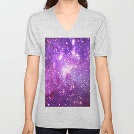 pixels stars Unisex V-Neck
