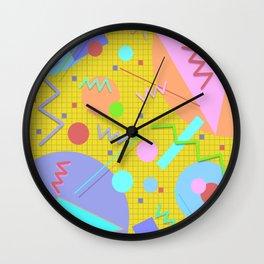 Memphis #43 Wall Clock