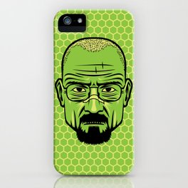 Walter White Portrait. iPhone Case