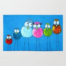 Love Birds 2 Rug
