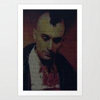 Travis. Taxi Driver Screenplay Print Art Print