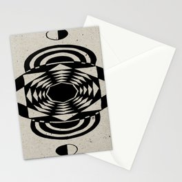 Octagonal Illusion Stationery Cards