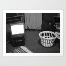 TV Rays Art Print