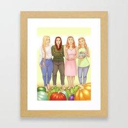 The Bonner Girls Framed Art Print