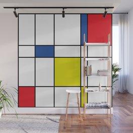 Mondrian 1 Wall Mural