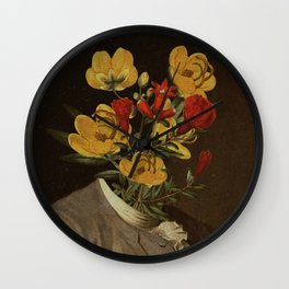 Flower head Wall Clock