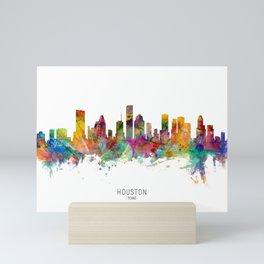 Houston Texas Skyline Mini Art Print
