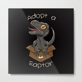 Adopt a Raptor Metal Print