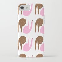 peace iPhone & iPod Cases featuring peace by Alba Blázquez