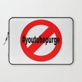 NoYouTubePurge Laptop Sleeve