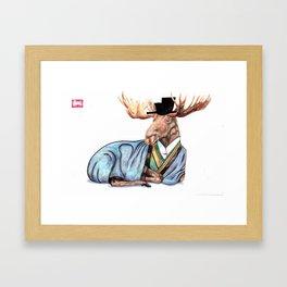 Naturalized Citizen no. 3 Framed Art Print