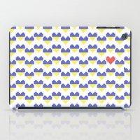 ukraine iPad Cases featuring I Love Ukraine by Minichka