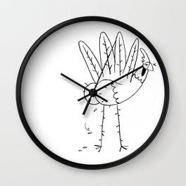 Chicken butt Wall Clock