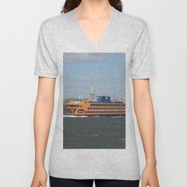 Staten Island Ferry Unisex V-Neck