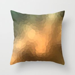 """Abstract pattern """"Sunny day """". Throw Pillow"""