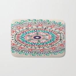 Pin Wheel Mandala Bath Mat