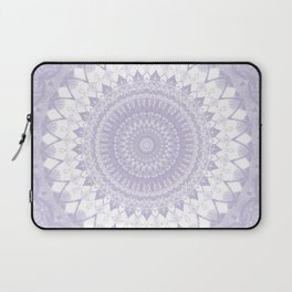 Boho Pastel Purple Mandala Laptop Sleeve