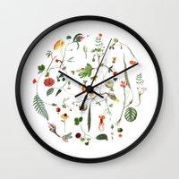cycle Wall Clocks featuring Cycle by Lindgren & Ekberg