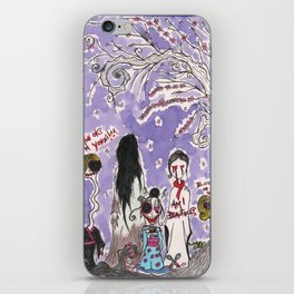 Headless Hanami iPhone Skin