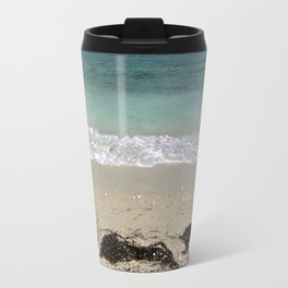Obligatory Beach Scene Travel Mug