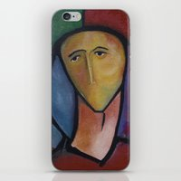 soldier iPhone & iPod Skins featuring Soldier by Andrey Bond.