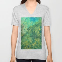 Green Meadow Unisex V-Neck