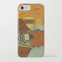 phil jones iPhone & iPod Cases featuring Punxsutawney Phil by Derek Eads