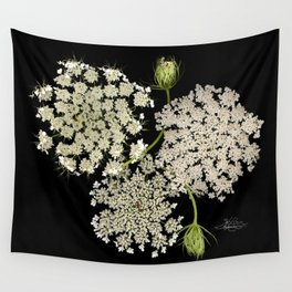 Queen Ann's Lace, Scenography Wall Tapestry