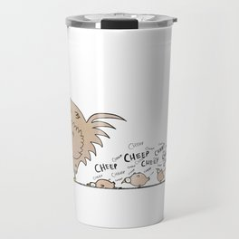 In Hawaii Chickens are Annoying Travel Mug