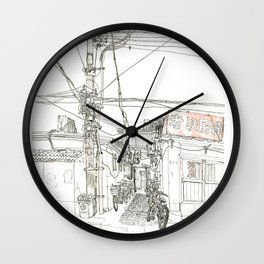 Beijing.China.Xintaicang  hutong 新太仓胡同 Wall Clock