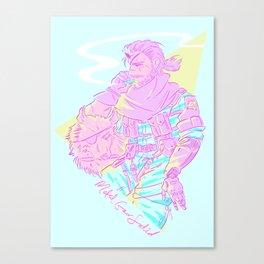 Soft Boss Canvas Print
