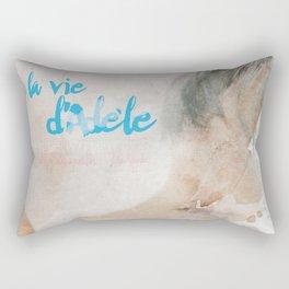 La vie d'Adele, movie poster - chapter two - alternative playbill Rectangular Pillow
