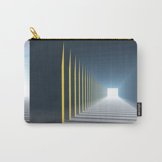 Linear Perspective of Light Carry-All Pouch