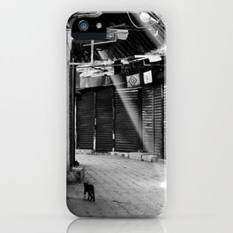 When No One Is Around iPhone Case