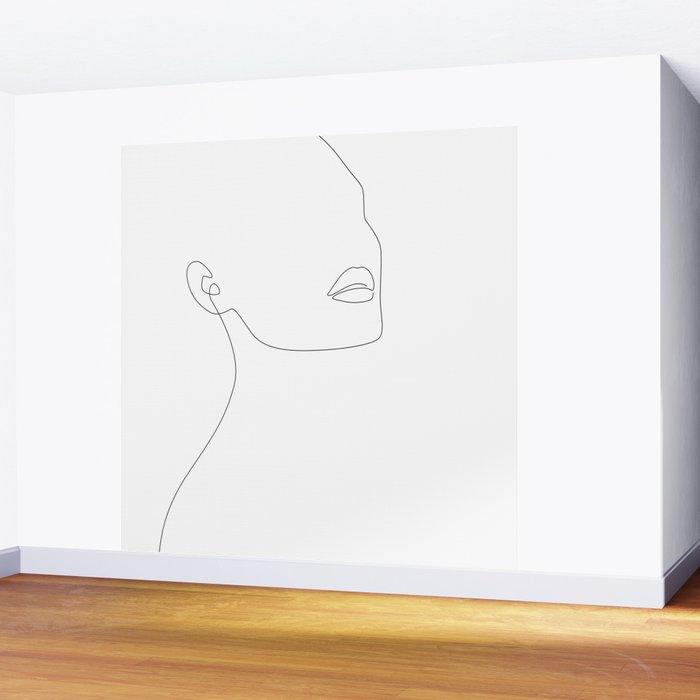 Simple Minimalist Wall Mural