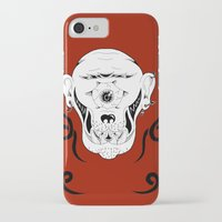 cyclops iPhone & iPod Cases featuring Cyclops by Jorge Daszkal