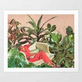 SECRET PLACE Art Print