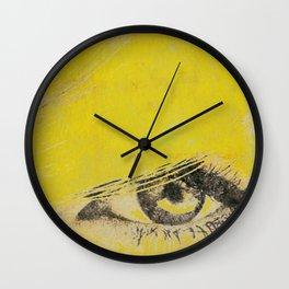 Rare View   Pop-Art Glamour EYE Wall Clock