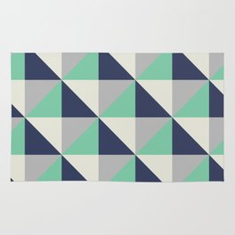 Bluemuda Triangles Rug