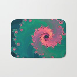 SWIRLY PASTEL Bath Mat
