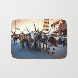 Denver National Western Stock Show Kick-of Parade 2018 Bath Mat